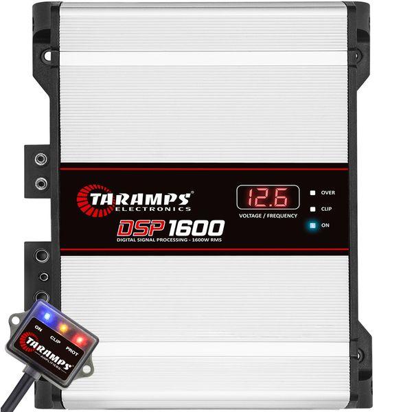 taramps-dsp-1600-1-channel-1600-watts-rms-1-ohm-class-d-mono-amplifier
