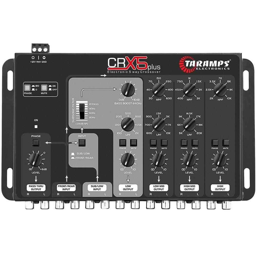 taramps-crx5-plus-five-way-audio-crossover
