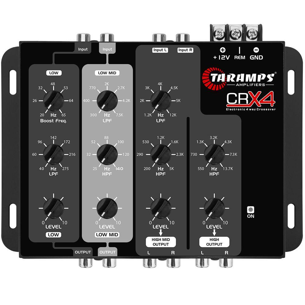 taramps-crx4-four-way-audio-crossover