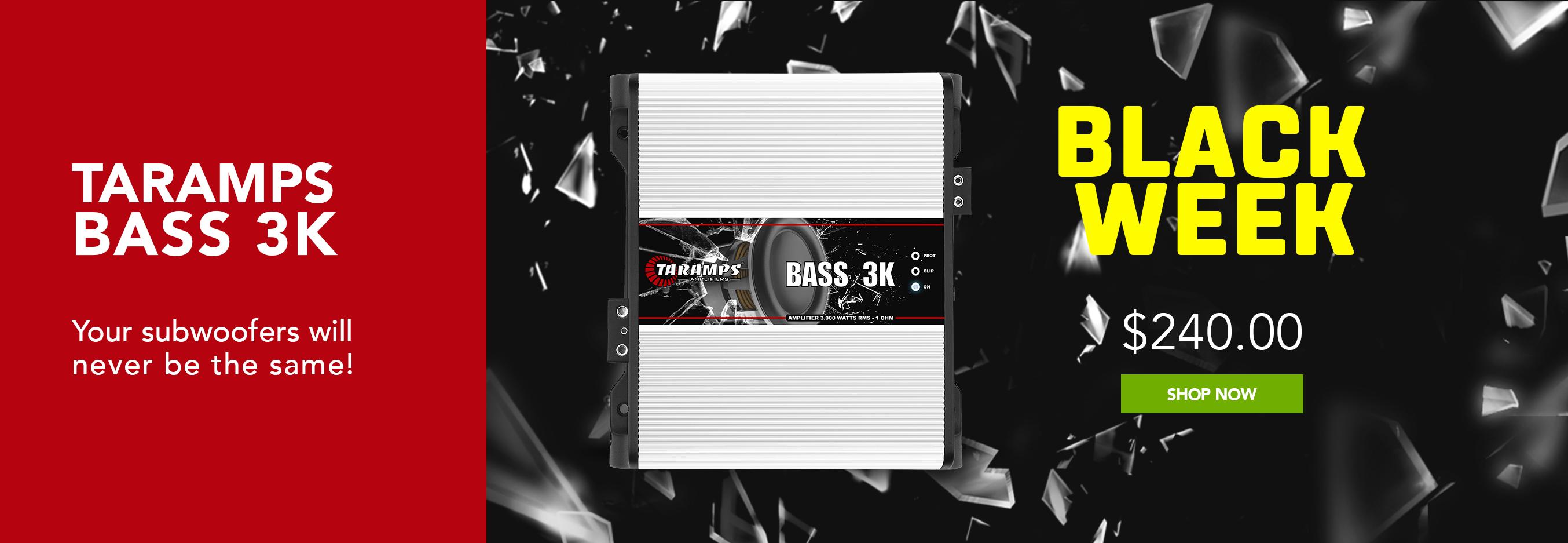 Bass3k Black Week